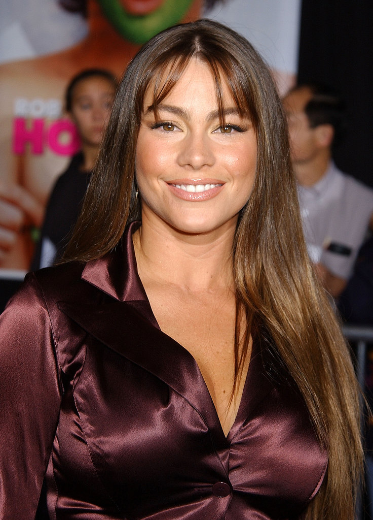Sofia paired a cat eye with piecey bangs at a 2002 screening of The Hot Chick.
