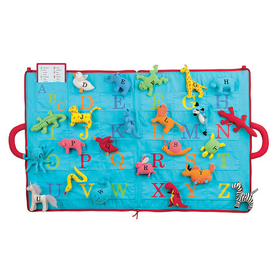 North American Bear ABC of Animals Activity Mat