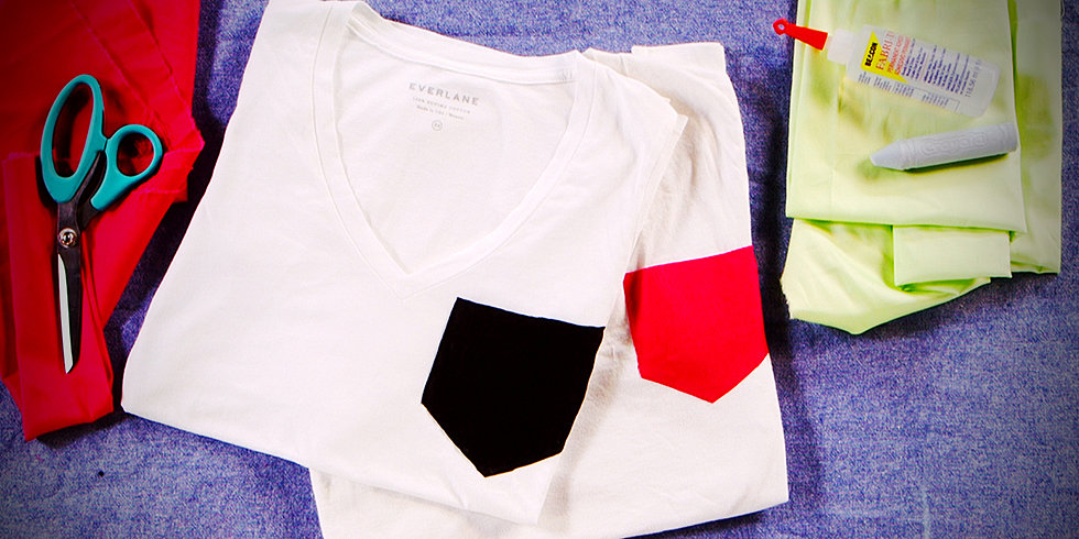 Update Your T-Shirt With a Neon Pocket