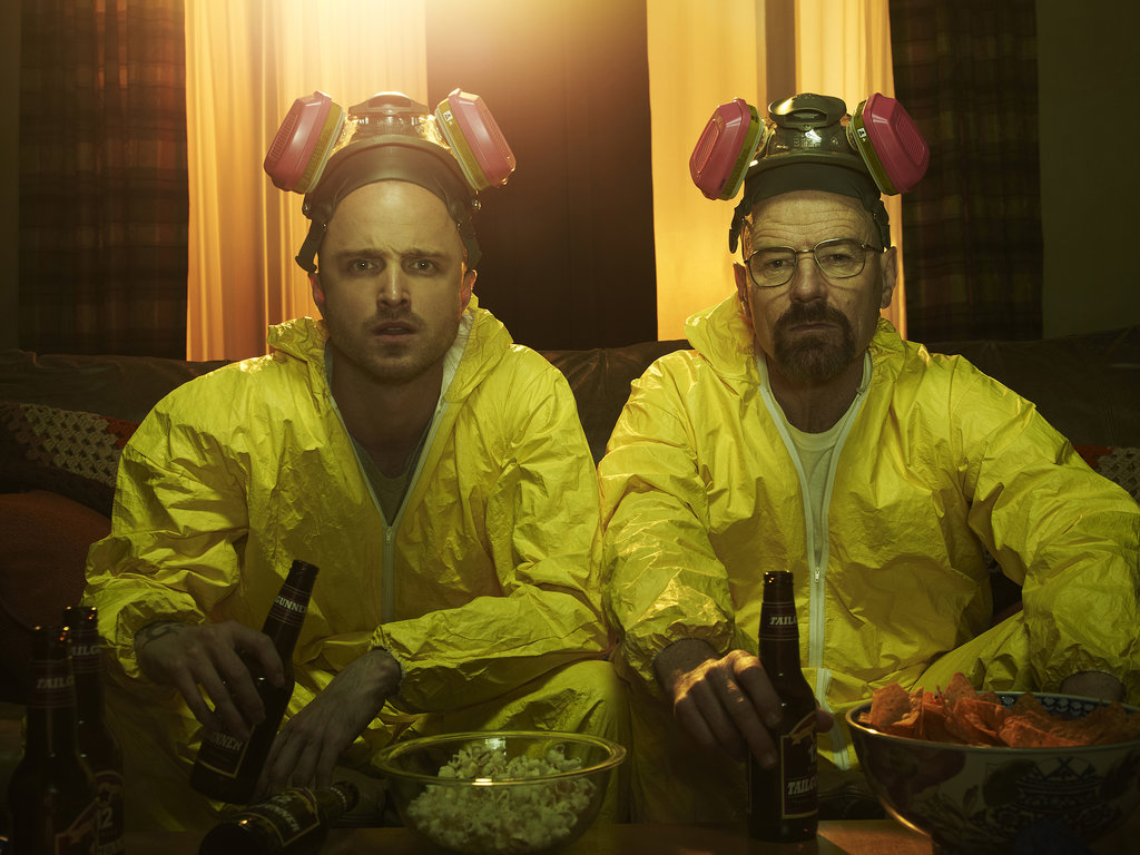 Breaking Bad 13 nominations total, including:  Outstanding drama series Outstanding lead actor in a drama series, Bryan Cranston Outstanding supporting actress in a drama series, Anna Gunn Outstanding supporting actor in a drama series, Aaron Paul Outstanding supporting actor in a drama series, Jonathan Banks