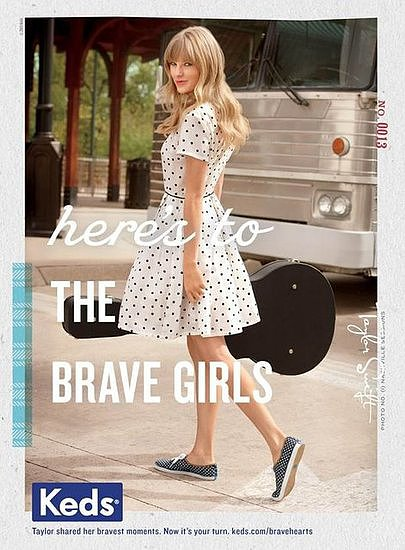 If there's anything more classic-Americana than Taylor Swift and Keds, we've yet to hear of it! The fit must have been a good one, because Keds is kicking up the shoe collaboration with a second line for Fall — this time 17 designs — available in July. Source: Keds