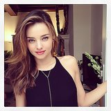 Miranda Kerr shared this pretty pic while hanging at home. Source: Instagram user mirandakerr