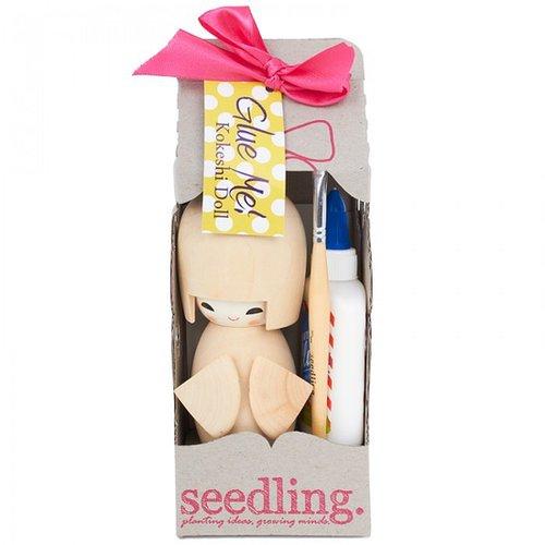 Seedling Glue Me! Kokeshi Doll