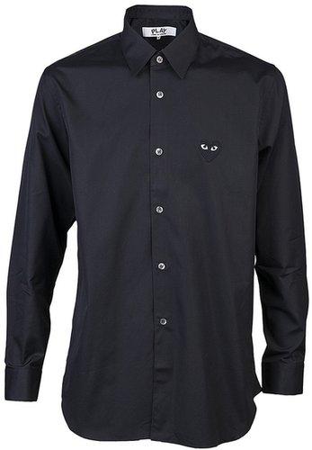 Comme Des Garçons Play Black emblem shirt