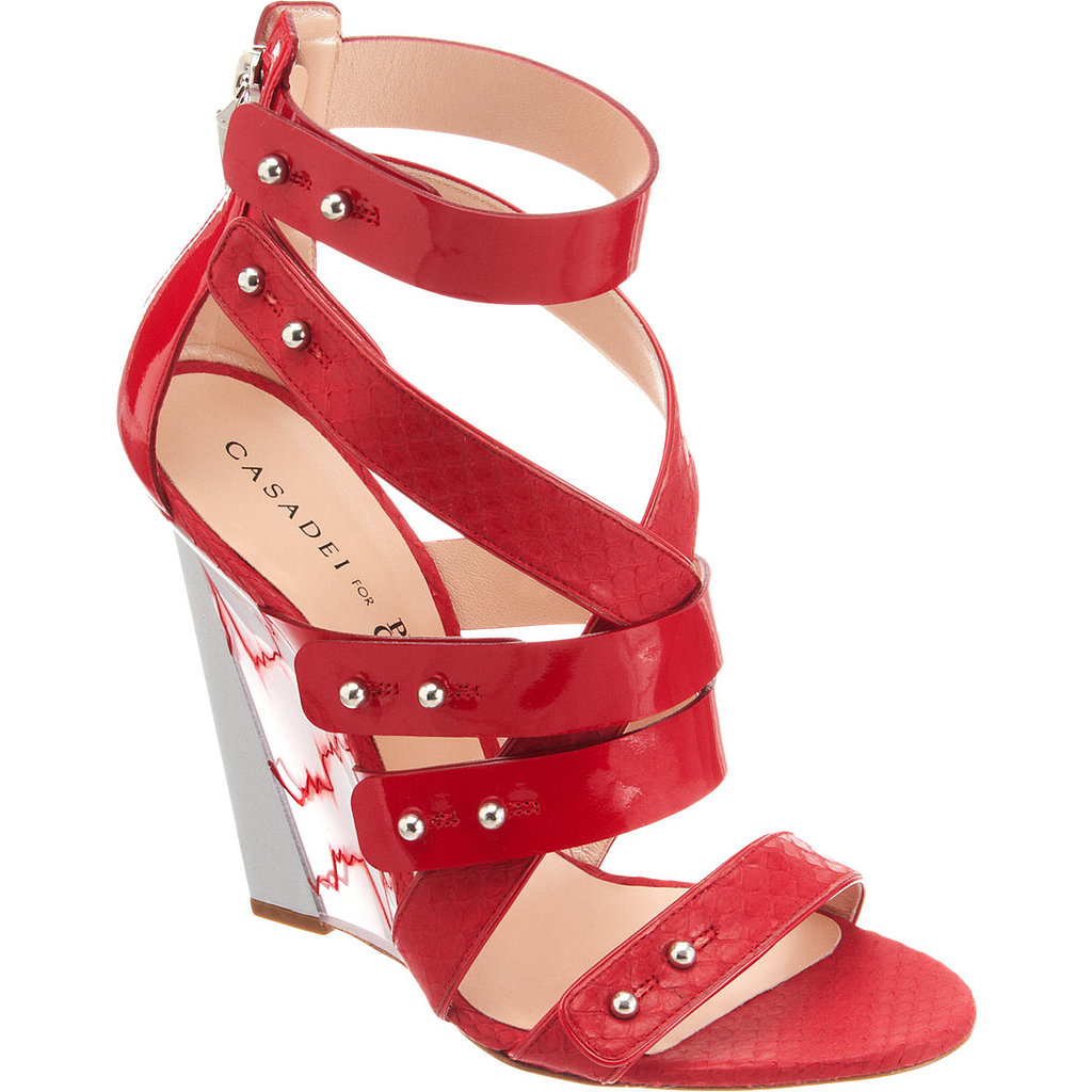 We loved these showstopping wedges from Casadei for Prabal Gurung ($389, originally $970) as soon as we saw them.