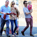 Kate Hudson's Boys Make a Set Stop in London