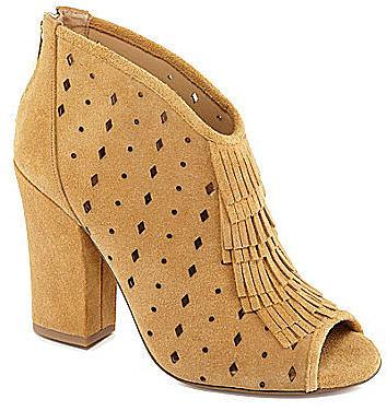 Jessica Simpson Maldwin Peep-Toe Booties