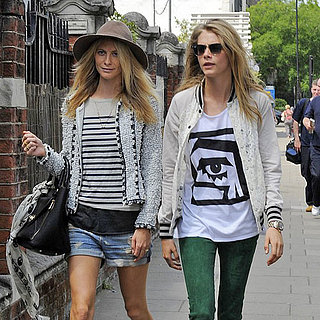 Cara and Poppy Delevingne Sister Style