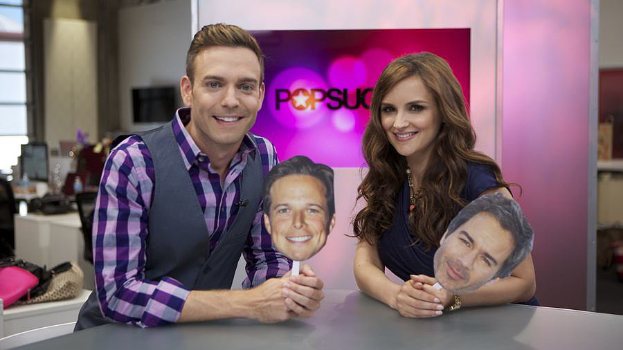 """Video: Pregnant Rachael Leigh Cook Says She """"Hoped"""" For a Love Triangle With Scott Wolf and Eric McCormack!"""