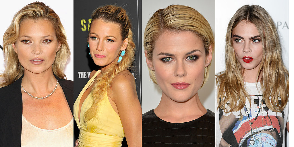 Beauty Spotlight: Bombshell Blondes (In Every Shape and Shade)