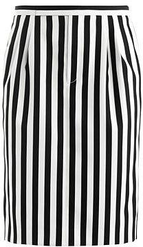 Marc Jacobs Stripe techno-twill skirt