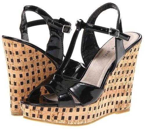 Madden Girl - Wickerrr (Black Patent) - Footwear