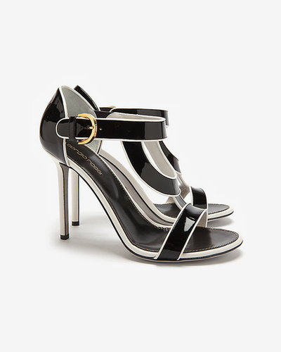 Sergio Rossi Beverly Patent High Heel Sandal