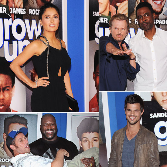 Salma Plays the Adult Amid Her Goofy Co-Stars at the Grown Ups 2 Premiere