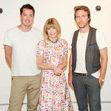 Anna Wintour joined Rag & Bone's Marcus Wainwright and David Neville to toast the 2013 CFDA/Vogue Fashion Fund finalists.