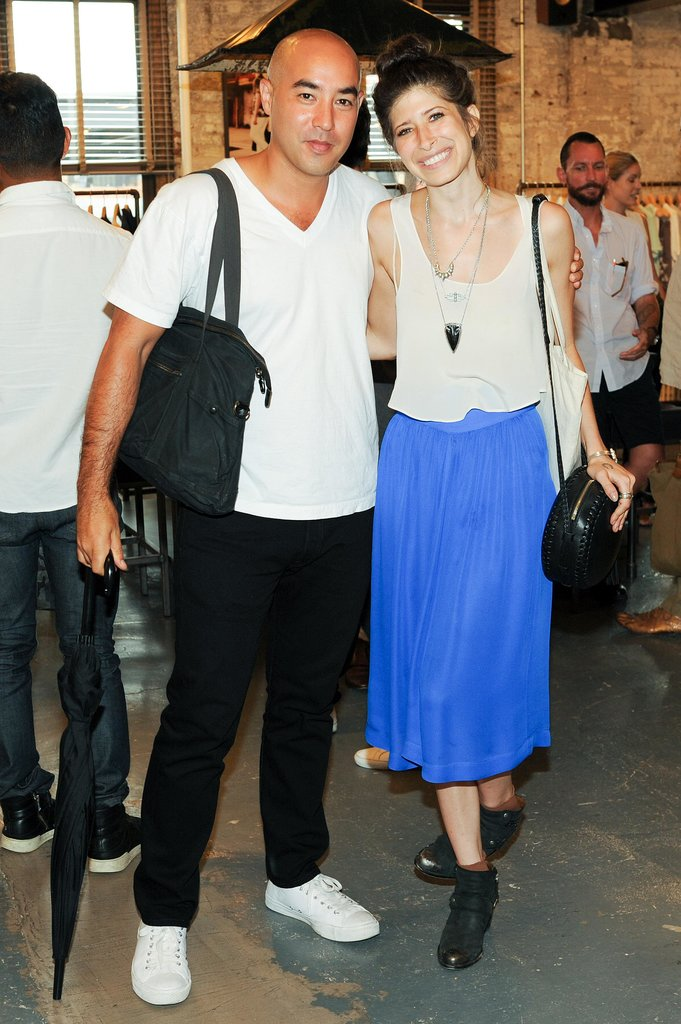 Max Osterweis and Pamela Love had a moment of adoration at the CFDA/Vogue Fashion Fund fete.