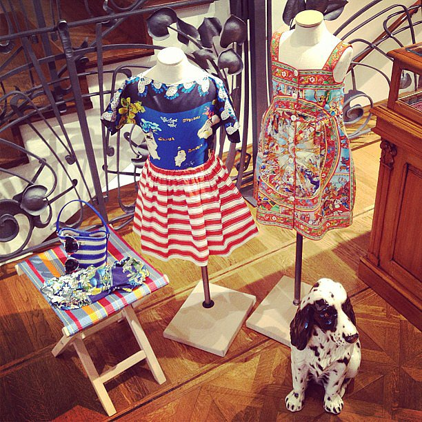 For the stylish kid: Dolce & Gabbana snapped a chic offering. Source: Instagram user dolcegabbanaofficial