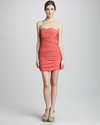 Jay Godfrey Weldon Fitted Cocktail Dress
