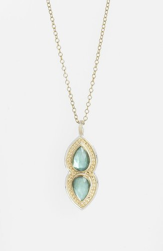 Anna Beck 'Gili' Double Teardrop Pendant Necklace