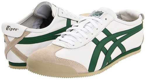 Onitsuka Tiger by Asics - Mexico 66 (White/Green) - Footwear