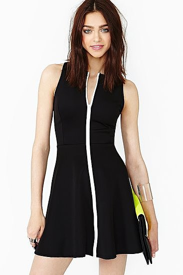 This Nasty Gal Limit Line dress ($48) is one part sporty, all parts sexy.