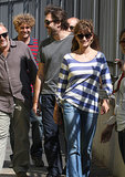 Penélope Cruz and Javier Bardem were all smiles during a July 2011 stop in Rome.