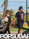 Penélope Cruz and Javier Bardem were ready for the beach back in July 2010 when they took a trip to Hawaii.