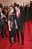Diane Kruger and Joshua Jackson exchanged a glance on the red carpet at the 2013 Met Gala back in May.