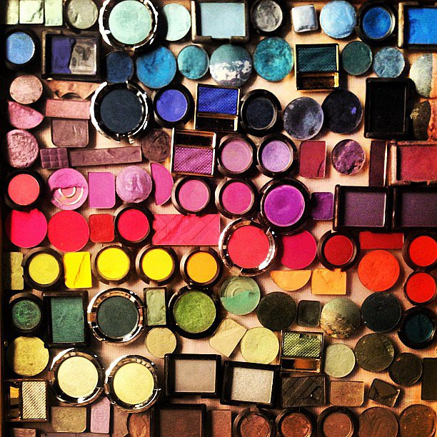 We'll take one of each from Karlie Kloss's expansive makeup shot.  Source: Instagram user karliekloss