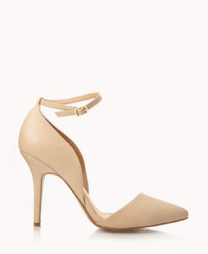 You'll have legs for days in these Forever 21 City-Chic D'Orsay pumps ($27).