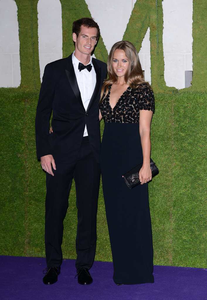 We can't stop talking about Kim Sears — or how gorgeous she looked in this Burberry gown with boyfriend Andy Murray at the Wimbledon Champions dinner.