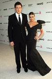 In May 2010, Lea Michele and Cory Monteith attended Elton John's AIDS Foundation Oscar party in West Hollywood.
