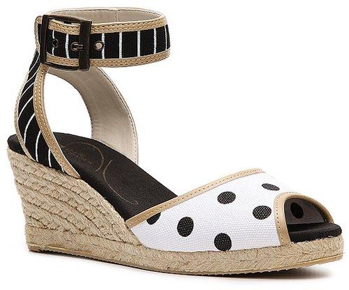 White Mountain Serenade Wedge Sandal