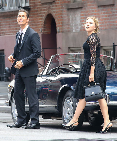 Matthew McConaughey and Scarlett Johansson both wore Dolce & Gabbana.
