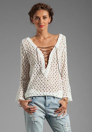 T-Bags LosAngeles Crochet Tunic