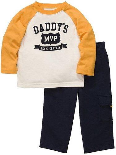 Carter's daddy's mvp tee and pants set - toddler