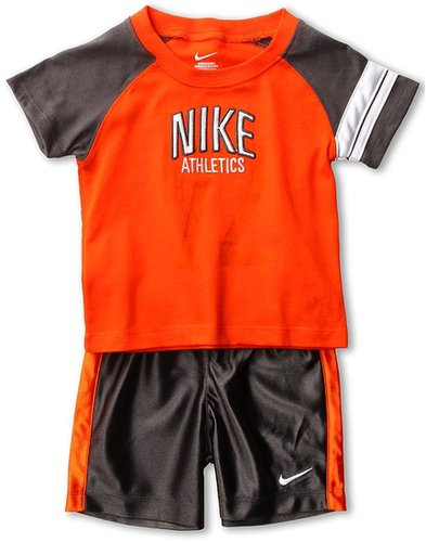 Nike Kids - Nike N45 Campus S/S Short Set (Infant) (Midnight Fog) - Apparel