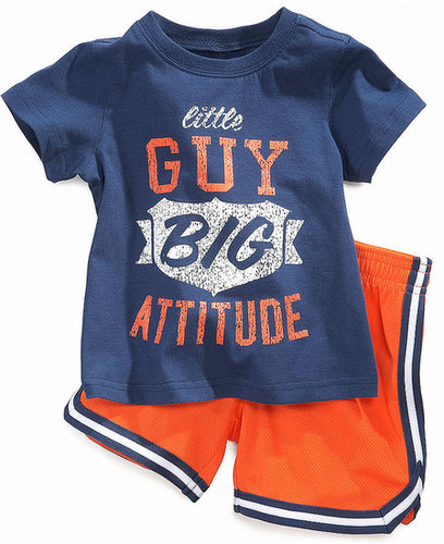 First Impressions Baby Set, Baby Boys Two-Piece Active Playwear