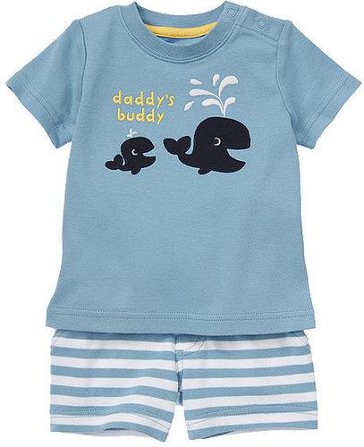 Daddy's Buddy Whale Two-Piece Set