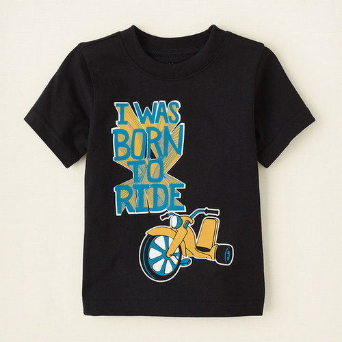 Born to ride graphic tee