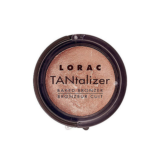Suitable for face and body, Lorac Tantalizer Baked Bronzer ($7) can be your go-to all season.