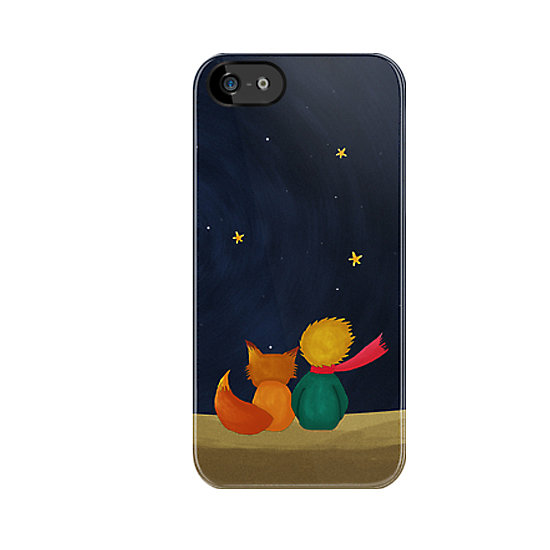 The Little Prince iPhone 5 case ($36) is a sweet, modern portrayal of the friendship between prince and fox.