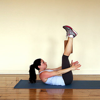 Crunches Using a Block