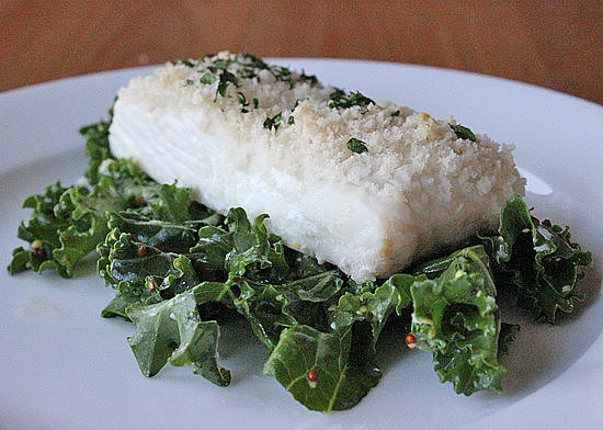 Seafood: Panko-Crusted Fillet
