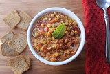 Legumes: Tomato Lentil Soup