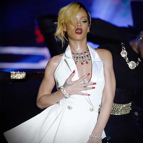 Rihanna's Diamonds Tour Costumes 2013 | Video