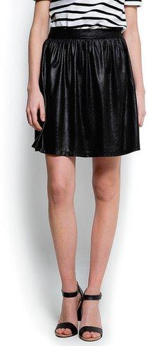 Shiny full skirt