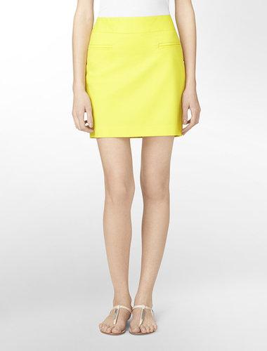 Pocket Detail Mini Skirt