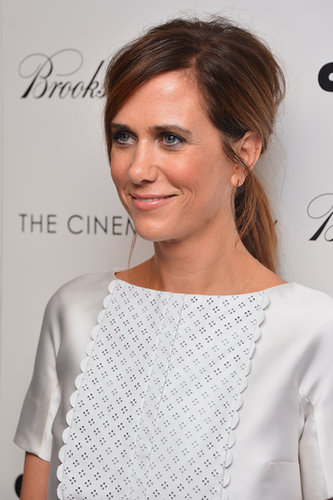 Kristen Wiig's Texturised Ponytail at Girl Most Likely NY
