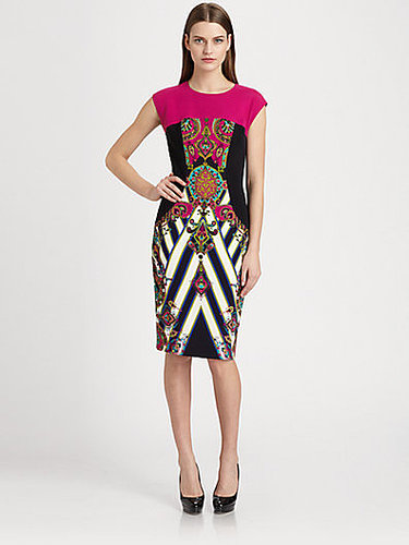 Etro Printed Stretch Cady Dress